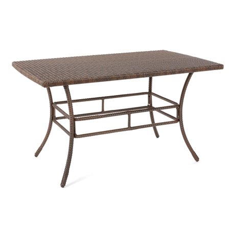 W Unlimited Leisure Collection Outdoor Garden Patio Furniture Dining Table