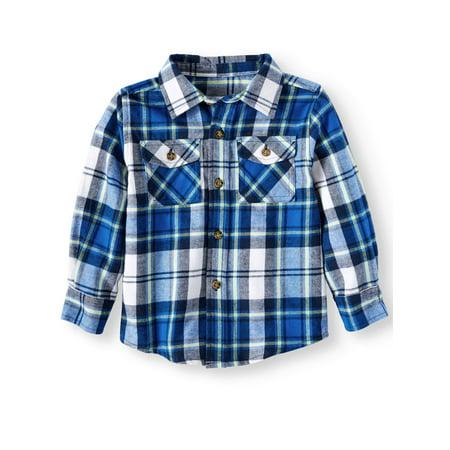 Ht Boys L/s Flannel Shirt