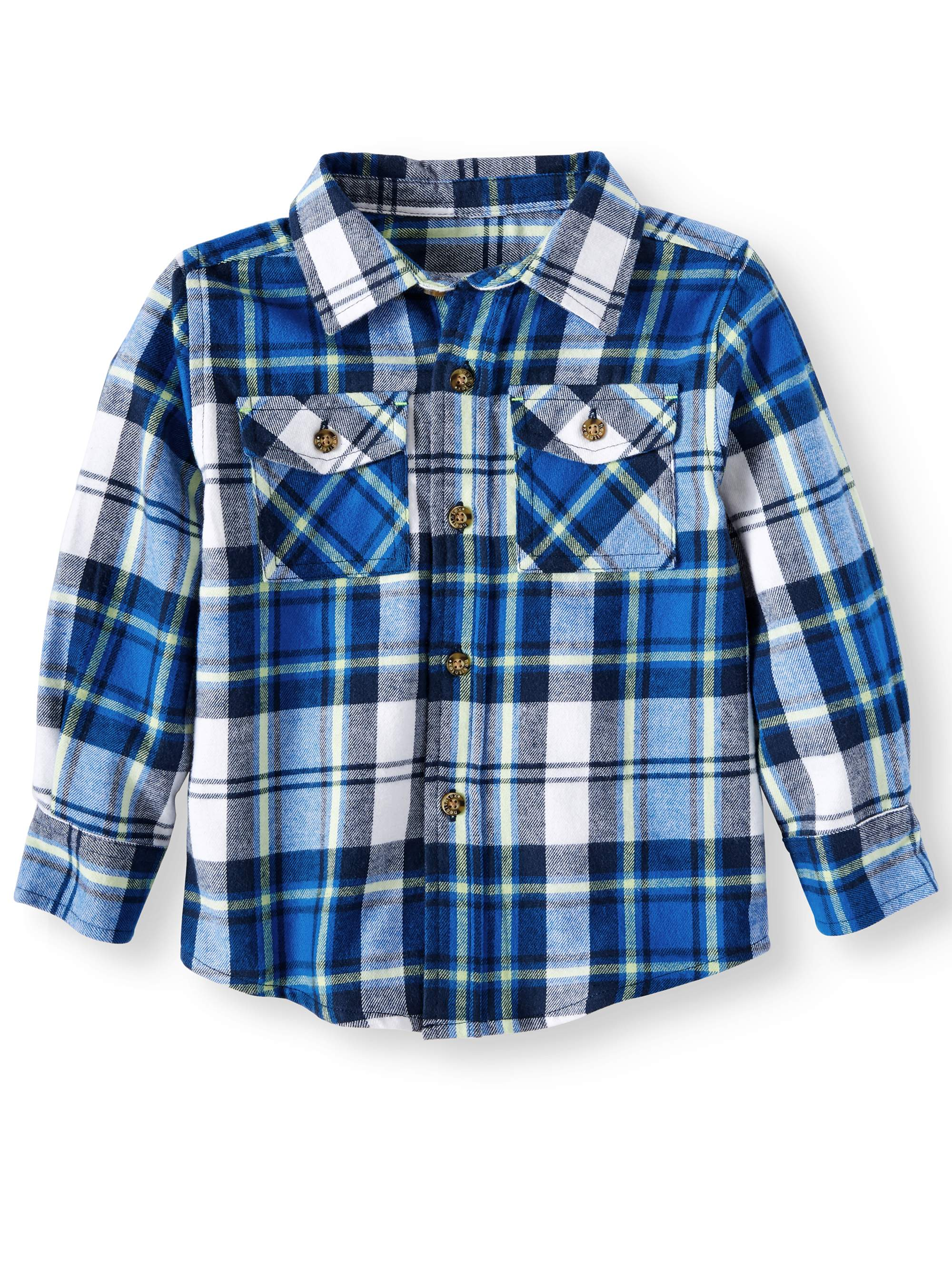 Ht Boys L/s Flannel Shirt