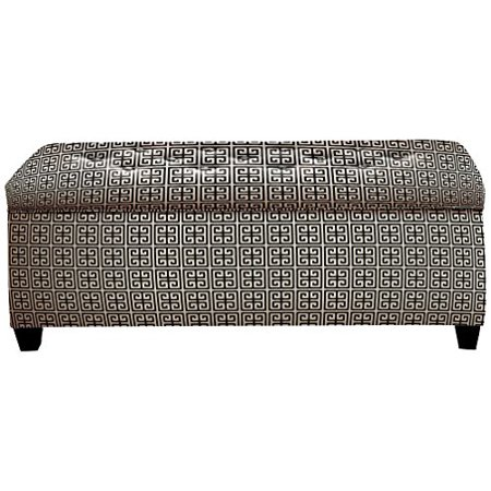 The Sole Secret Towers Button Tufted Shoe Storage Bench, Medium