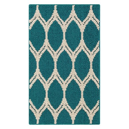 Mainstays Sheridan Ogee Area Rug or Runner, Multiple Sizes and Colors