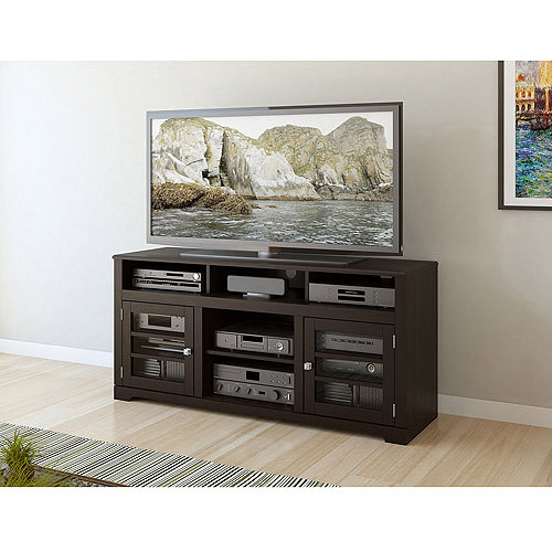 "Sonax B-602-BWT West Lake 60"" Television Bench in Mocha Black"