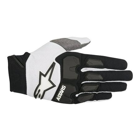 Alpinestars Racefend S8 MX Offroad Gloves Black/White XL