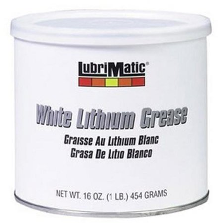 Resealable Tub - LubriMatic 11350 White Lithium Grease - 1lb. Resealable Tub