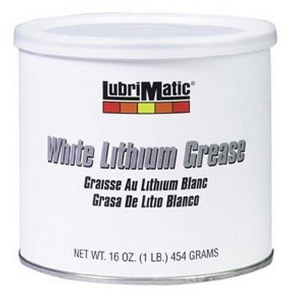 LubriMatic 11350 White Lithium Grease - 1lb. Resealable Tub
