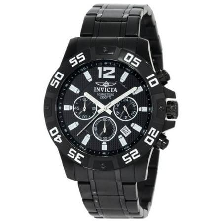 Invicta Men's 1505 Specialty Quartz Chronograph Black Dial Watch