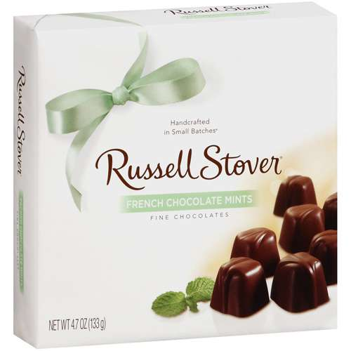 Russell Stover: French Chocolate Mints Fine Chocolates, 5.5 Oz