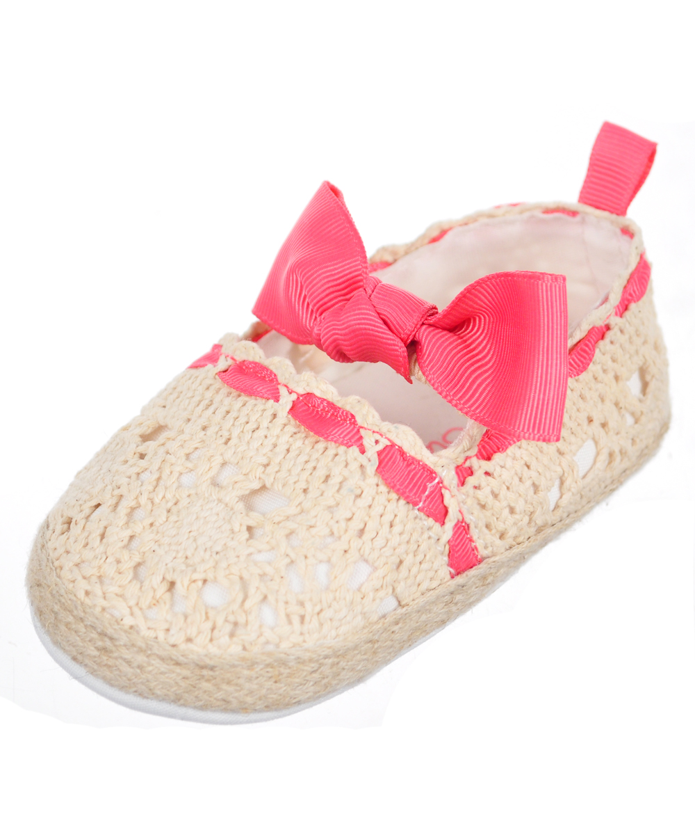 Baby Girls' Slip-On Booties