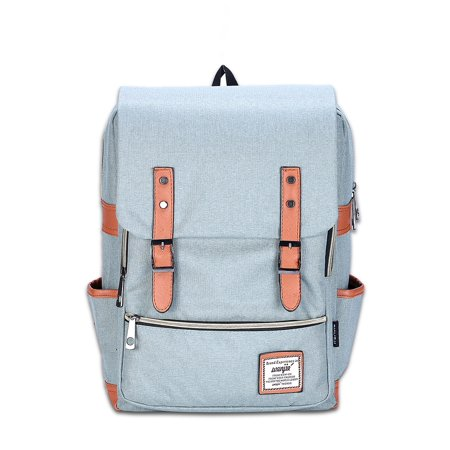 0f19ec417 phoebecat - 16.7 Inch Unisex Canvas Backpack, School Laptop Travel Rucksack  Satchel Backpack Fashion Shoulder Bag for Men & Women - Walmart.com