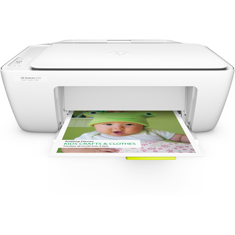 HP Deskjet 2130 Inkjet Multifunction Printer - Color - Pl...