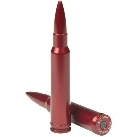 Image of A-Zoom 12230 Snap Caps Rifle 338 Winchester Magnum Aluminum, 2-Pack