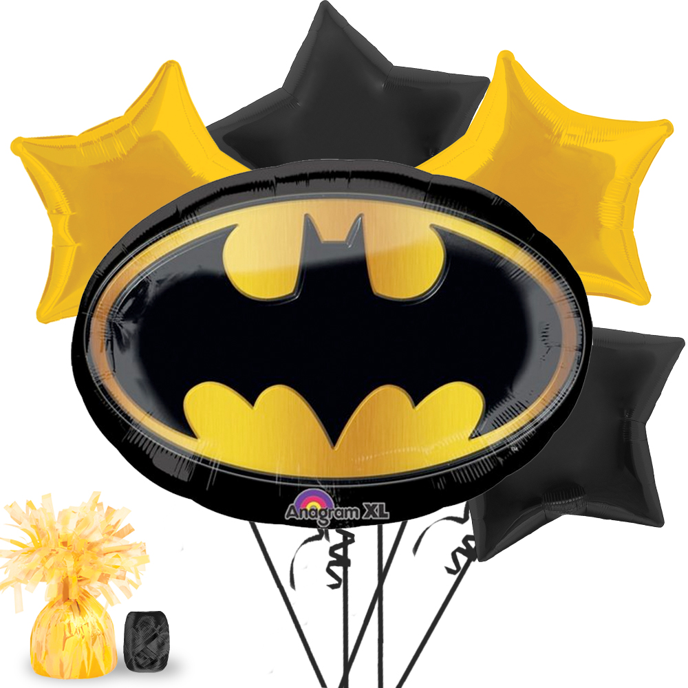 Batman Party Balloon Kit - Party Supplies