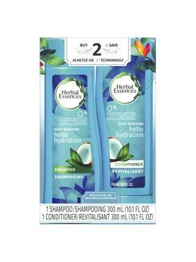 Herbal Essences Hello Hydration Shampoo and Conditioner with Coconut Essences Dual Pack, 20.2 fl oz