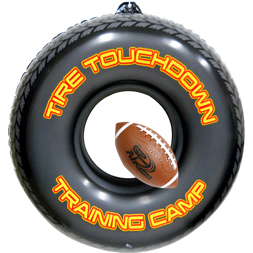 Hedstrom Inflatable Tire Touchdown Trainer with G2 Air Pro Vinyl Football