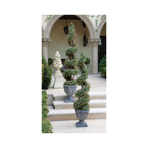 DESIGN TOSCANO SE6014 60IN SPIRAL TOPIARY