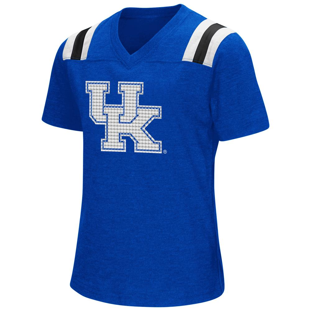 Youth Girls Colosseum Rugby Kentucky Wildcats UK T-Shirt