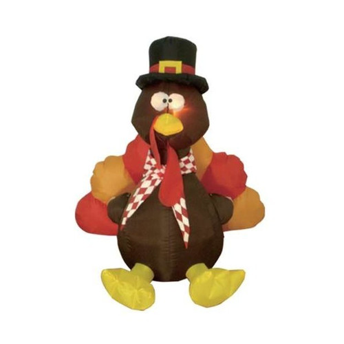 BZB Goods Inflatable Turkey Thanksgiving Decoration