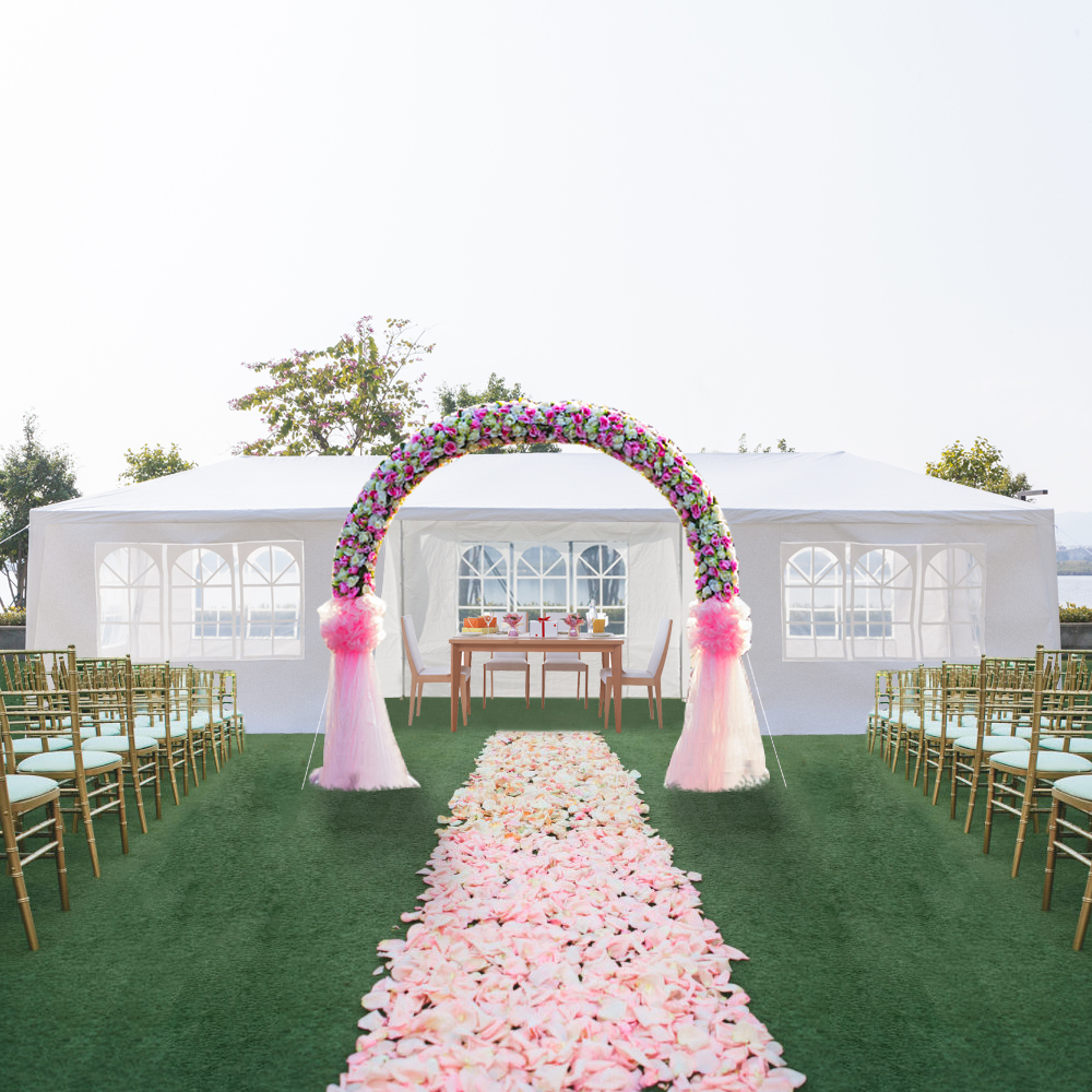 Wedding With White Tent: Canopy Tents For Outside, UCOWQ917 Outdoor Set Up Canopy