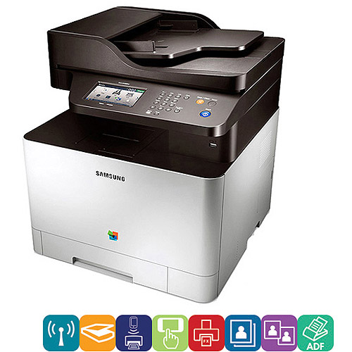 Samsung IT CLX-4195FW Color Laser Printer