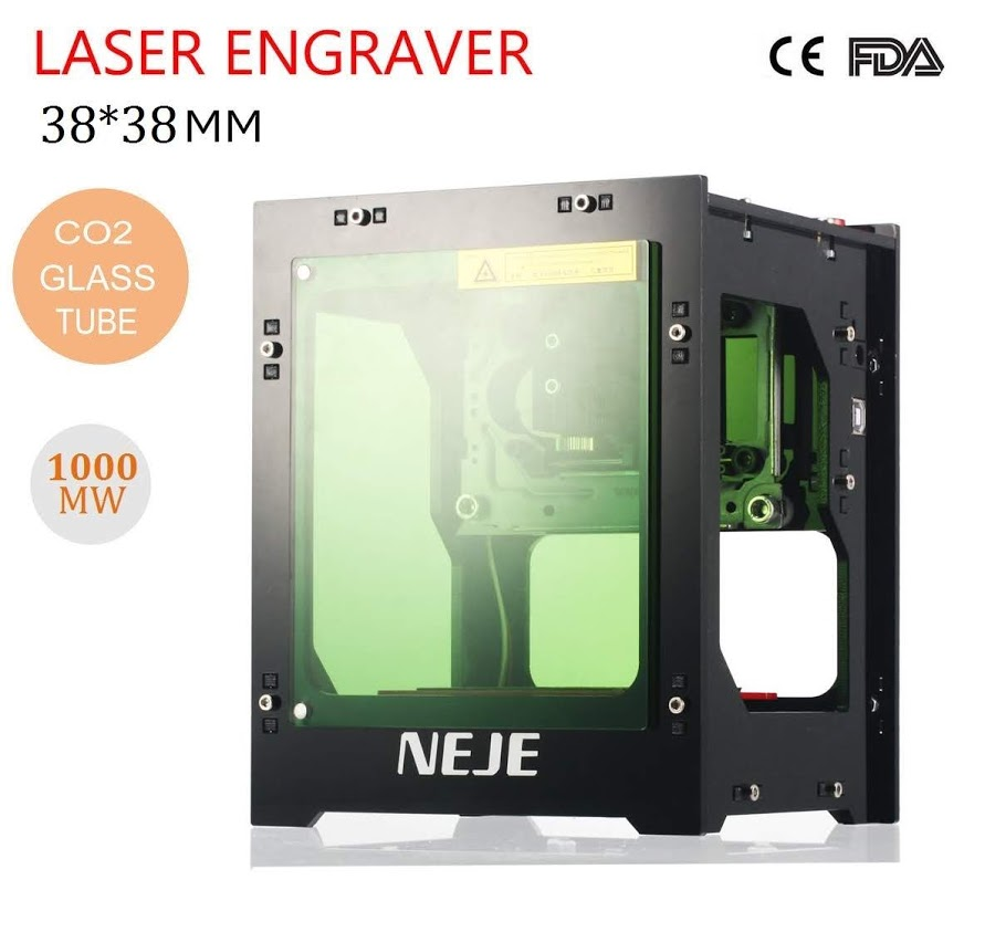 1000mw Laser Engraving Cutting Machine Engraver Cutter DIY USB Port with Exhaust Fan