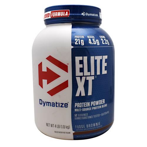 Dymatize Nutrition Dymatize Elite XT Fudge Brownie - 4 lb...