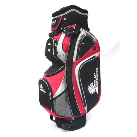 PALM SPRINGS GOLF Royal 14 Way Full Length Divider Cart (Carolina Panthers Golf Cart Bag)