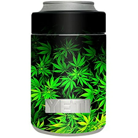 061c85341c6 Skin Decal Vinyl Wrap for Yeti Rambler Colster Stickers Skins Cover Cup /  weed gonja - Walmart.com