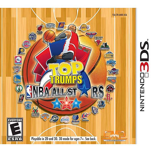 Top Trumps Nba All Stars (Nintendo 3DS)