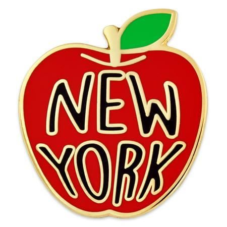 New York Big Apple Jewelry Souvenir Enamel Lapel Pin