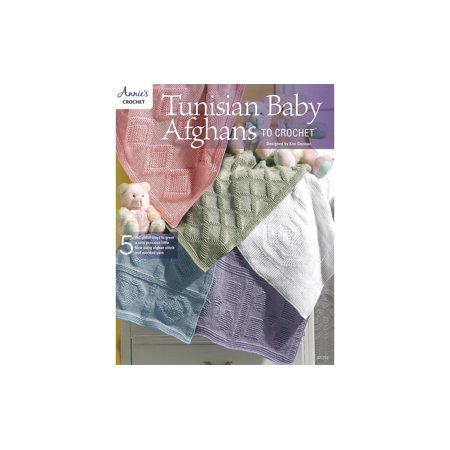 Annie's Tunisian Baby Afghans To Crochet Bk - image 1 of 1