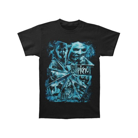Slipknot Men's  Broken Glass T-shirt Black](Slipknot Suits)