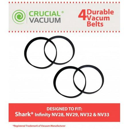 4 Shark Infinity Belts, Part # 1102FP