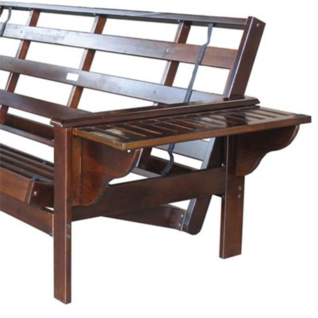 Night and Day Furniture Online LWNS-QEN-JAV Winston Queen Futon Frame Java by Night and Day Furniture