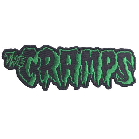 Embroidered Name Tape (The Cramps Name Logo Embroidered Patch )