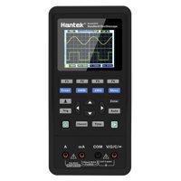 Hantek 3 in 1 Handheld Digital Oscilloscope + Waveform Generator + Multimeter Dual-channel 2 Channels USB Scopemeter Portable Scope Meter 70MHz Bandwidth 250MSa/s Sample Rate 2D72 TFT LCD Display Test