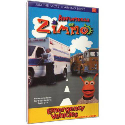 Just The Facts: Adventures Of Zimmo - Emergency Vehicles