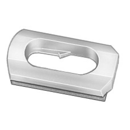 Clipsandfasteners Inc 100 Body Side & Wheel Opening Moulding Clips For GM 8733059