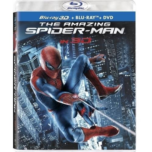 The Amazing Spider-Man (3D Blu-ray   Blu-ray   DVD   Digital Copy) (With INSTAWATCH) (Anamorphic Widescreen)