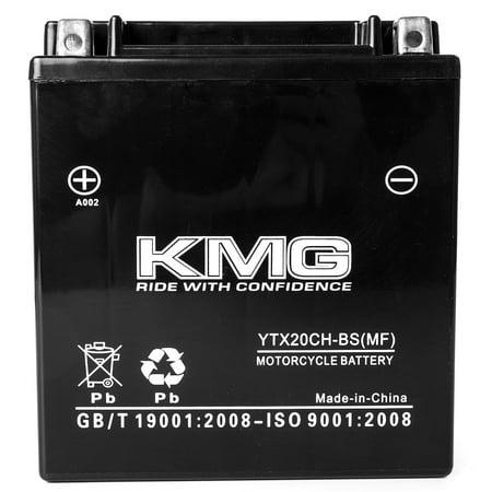 KMG 12 Volts 18Ah Replacement Battery for Suzuki Marauder, Boulevard M95 2004-2005 - image 1 of 3
