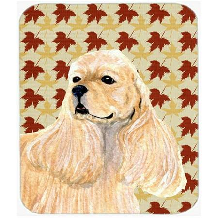 Cocker Spaniel Fall Leaves Portrait Mouse Pad, Hot Pad Or Trivet - image 1 de 1