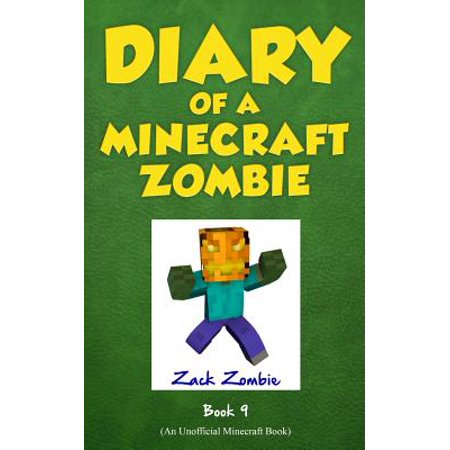 Diary of a Minecraft Zombie Book 9 : Zombie's Birthday Apocalypse (an Unofficial Minecraft Book)](Minecraft Halloween Adventure Map)
