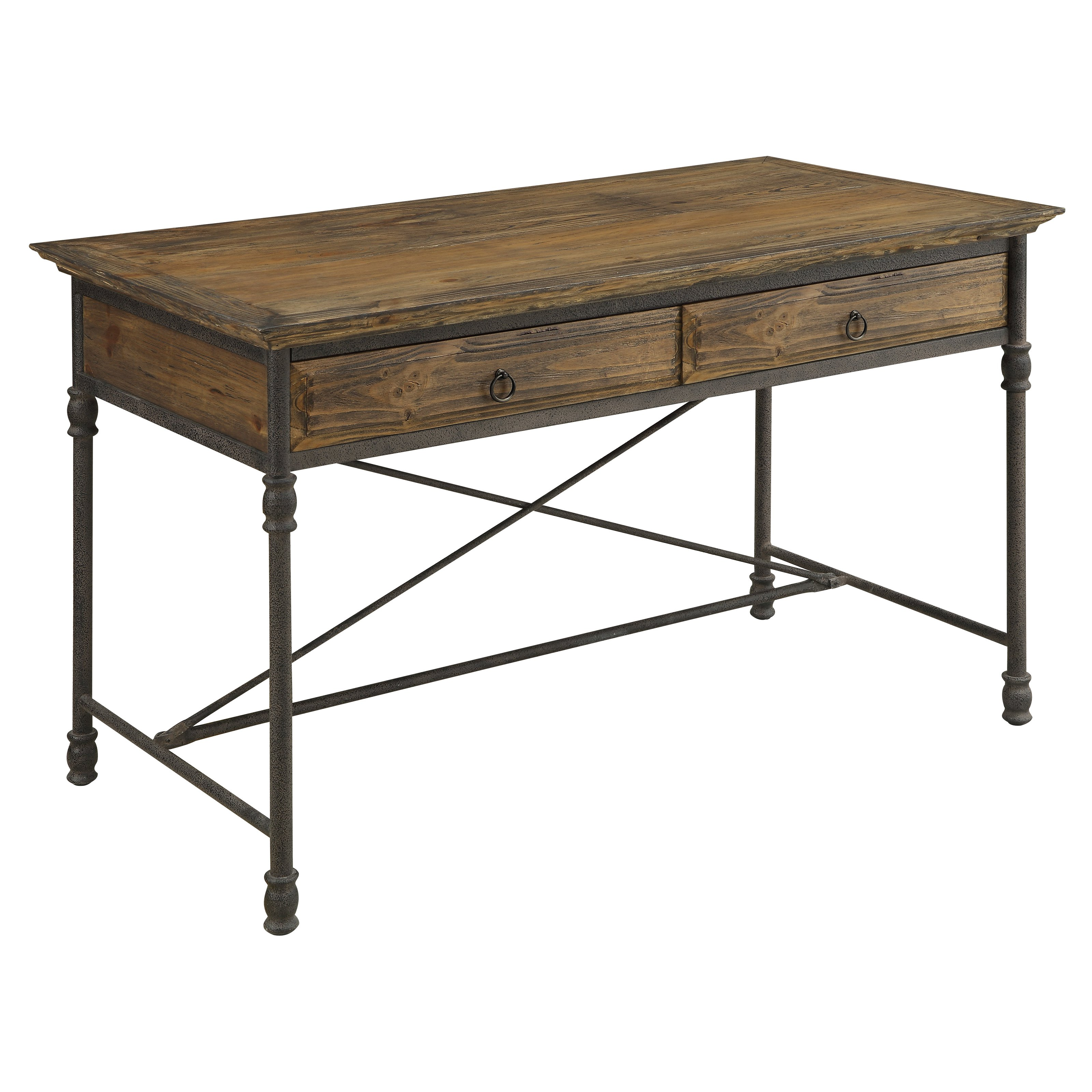 Coast to Coast 2 Drawer Executive Writing Desk