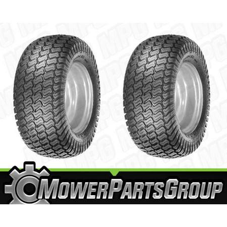 D036 (2) Turf Tires 18x9.50-8 4 ply Turf Master Tread 18x950x8 Lawn Mower 4 PLY