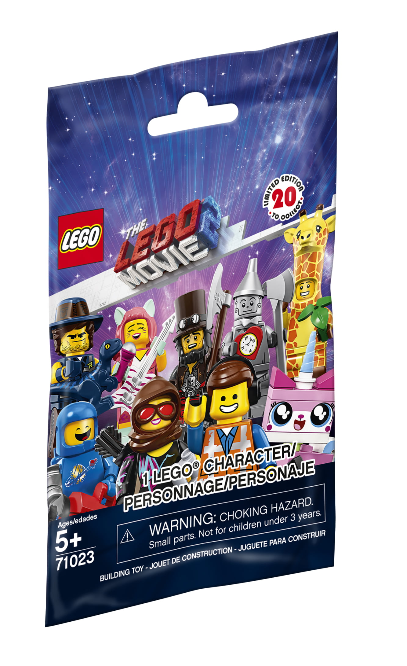 Lego Minifigures The Lego Movie 2 71023 1 Minifigure Walmart Com Walmart Com