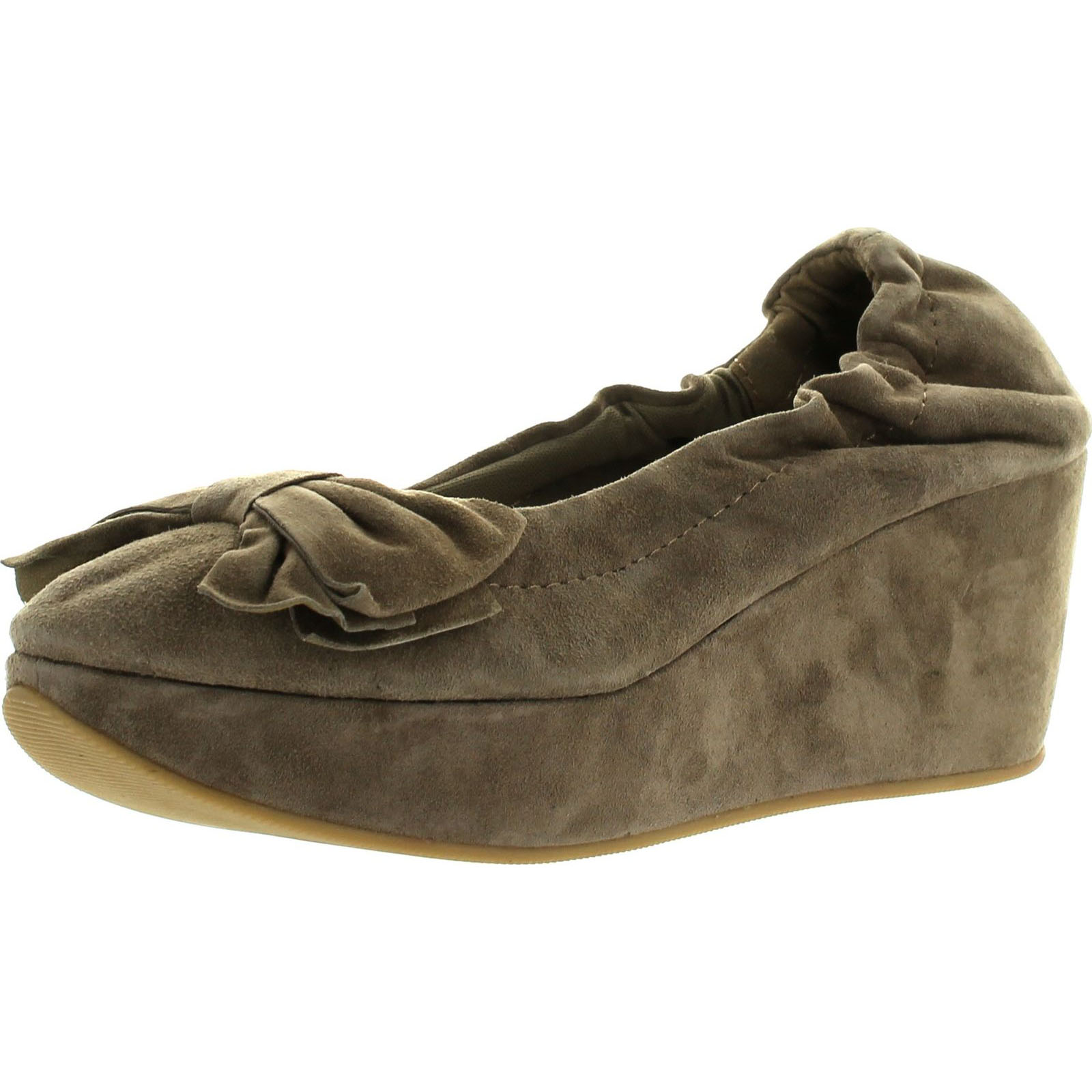 Restricted Womens Darla Fashion Suede Wedge Shoes