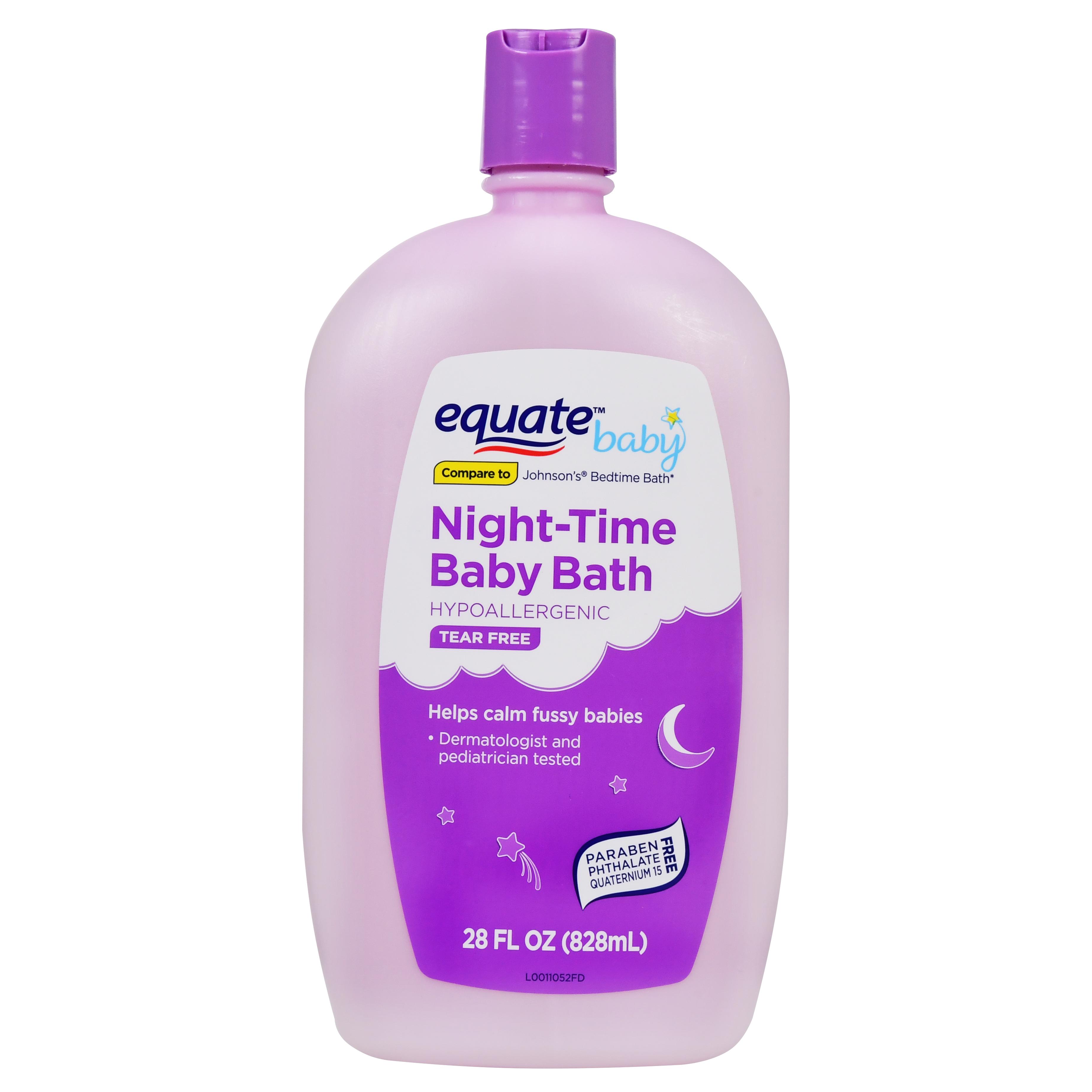 Equate Tear Free Night-Time Baby Bath, 28 Fl Oz