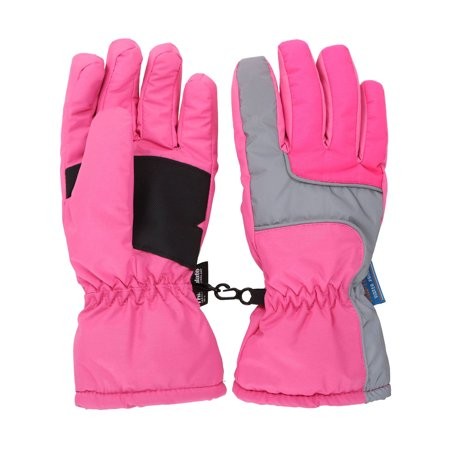 7f903b769ee8 Simplicity - Kids Girls Thinsulate Lined and Waterproof Ski Glove ...