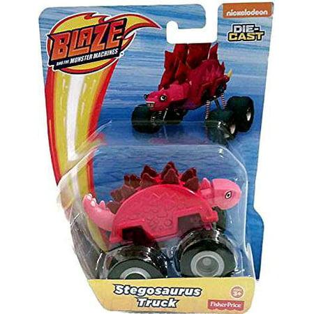 Blaze & the Monster Machines Stegosaurus Truck Diecast Car - Blaze Card