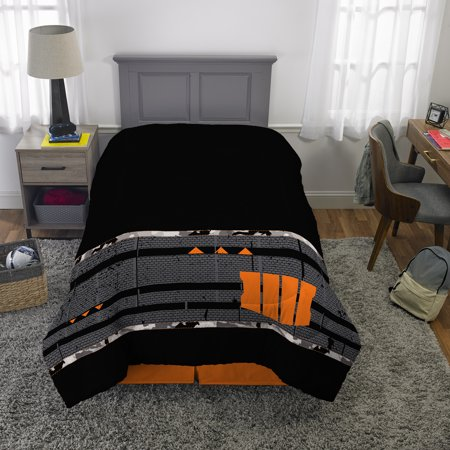 Call of Duty Comforter, Kids Bedding, Twin/Full, Ruins of War