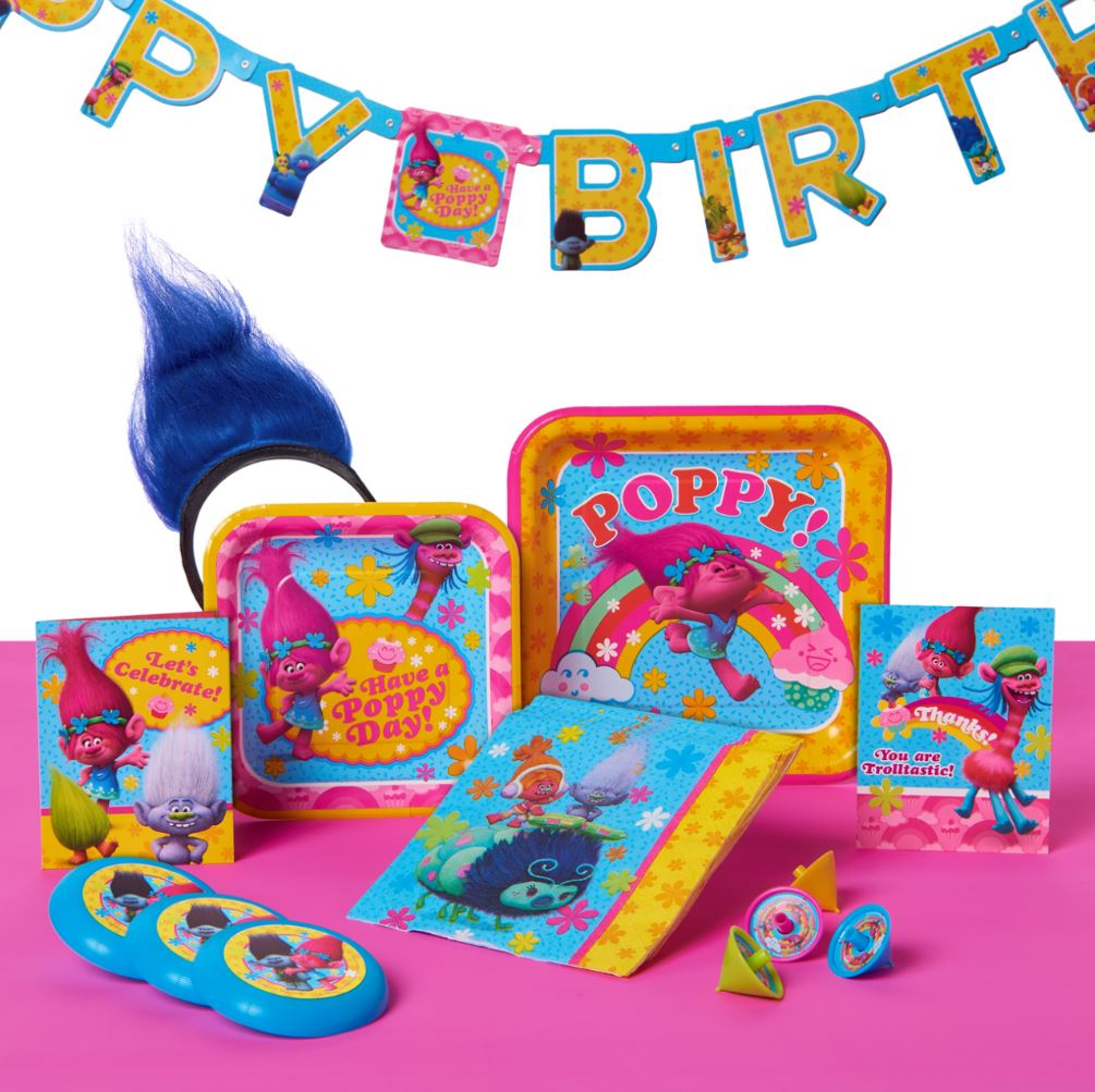 Trolls Party Supplies by American Greetings - Walmart.com